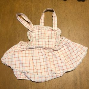 Vintage Overall Bloomer Set
